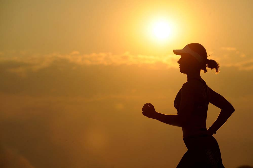 best tips on how to start running again is to think of benefits and sheer joy of running
